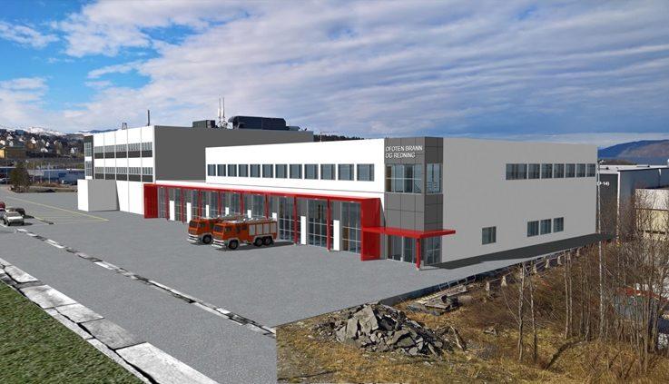 Nye-Narvik-brannstasjon